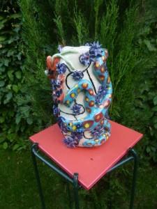 21 Vase aux lézards / Lizard vase