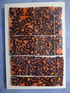 35 Passage du bûcher avec carrelages rouges / Butcher passage with red tiles