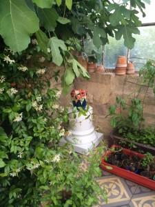 10 Vase aux colibris dans le serre/Humming bird vase in the hot house