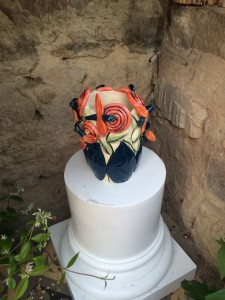 11 Vase aux colibris / Humming bird vase in the hot house 2