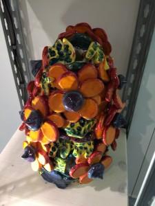 Vase aux fleurs lotus, 2017
